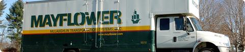 McLaughlin MayflowerMoving Truck